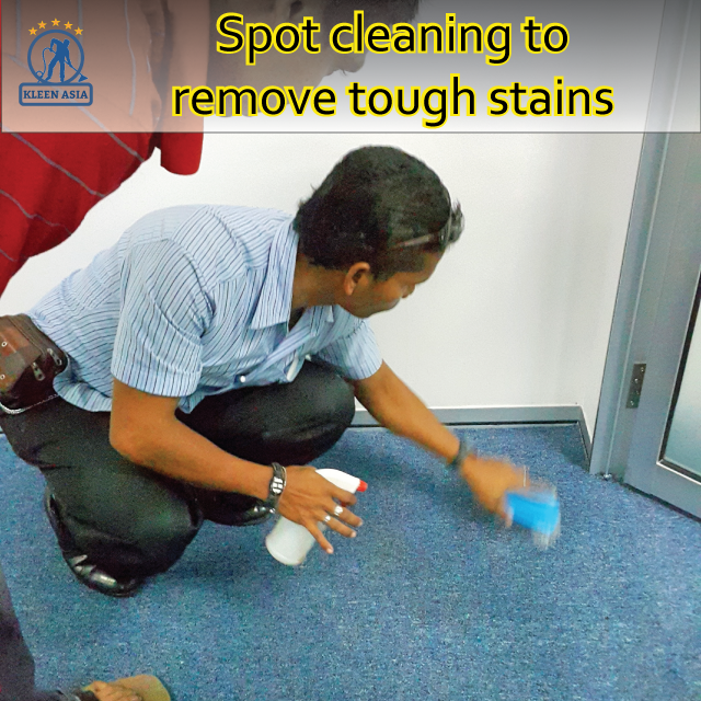 Spot cleaning